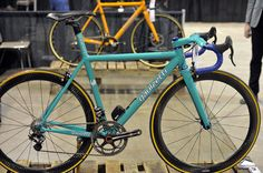 Gaulzetti frame - love the color - from 2013 NAHBS show in Denver - via VeloNews