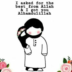 Awww cute 😍 Islamic Quotes On Marriage, Muslim Couple Quotes, Islam Marriage, Cute Muslim Couples, Muslim Love Quotes, Love In Islam, Beautiful Islamic Quotes, Islamic Inspirational Quotes, Husband And Wife Love