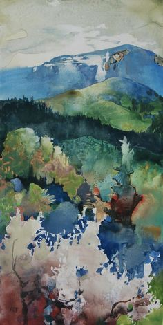 Randall David Tipton, work for sale Impressionist Landscape, Watercolor Landscape, Abstract Landscape, Watercolor Paintings, Old Friendships, Art Beat, Wet And Dry, American Art, Beautiful Landscapes