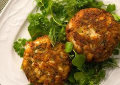 Japanese Spicy Fish Cakes with Cucumber and Radish Salad