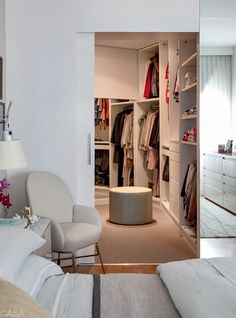 Home office closet pequeno 47 ideas Bedroom Closet Design, Master Bedroom Closet, Closet Designs, Bedroom Decor, Small Closets, Dream Closets, Closets Pequenos, Home Office Closet, Dressing Room Closet