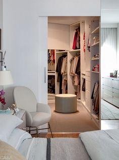 Home office closet pequeno 47 ideas Home, Bedroom Closet Design, Bedroom Design, Dressing Room Closet, Bedroom Inspirations, Closet Designs, Home Office Closet, Closet Decor, Bedroom Layouts
