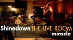 """Shinedown """"Miracle"""" captured in The Live Room ... """"Music for J.L. Thomas' night time writings.... listen to the lyrics..   they tell our story...   :("""