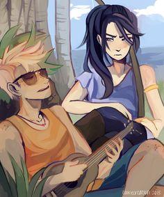 Apollo and Artemis ♡♡♡
