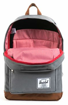 Herschel Supply Pop Quiz Grey 20L Backpack at Zumiez