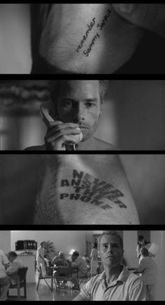 """Memento"" is a great example of anachronistic storytelling. Brilliantly editing. One of my favorite movies ever!"