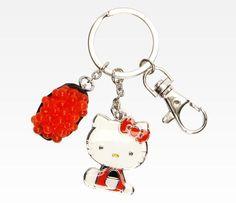 Hello Kitty Sushi Key Ring: Ikura