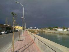 Parece que esta tarde sera pasada por agua en #Vinaros