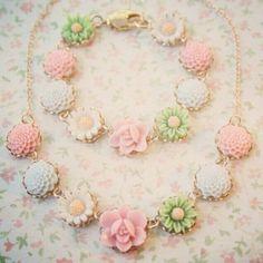 #neclace #flowers #love
