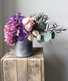 Floral Design of the Week: Industrial Chic | Utah Bride & Groom