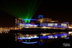 Lesar show from Lowry in Salford Quays