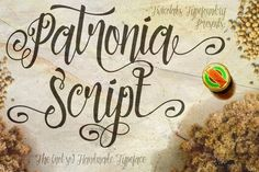 Check out Patronia Script by Twicolabs Design on Creative Market