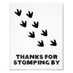 Shop Thanks For Stomping By Dinosaur Birthday Sign created by HeliaDesignCo. Godzilla Party, Godzilla Birthday Party, Birthday Party At Park, Dinosaur Birthday Cakes, Boy First Birthday, Boy Birthday Parties, Birthday Party Decorations, Dinosaur Decorations, Jurassic Park Party