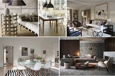 Decoração de interiores de sonho: 6 estilos diferentes