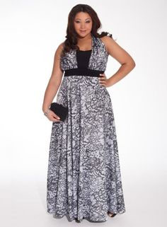 Amare Plus Size Gown #bbw #curvy #fullfigured #plussize #thick #beautiful #fashionista #style #fashion #shop #online www.curvaliciousclothes.com TAKE 15% OFF Use code: TAKE15 at checkout