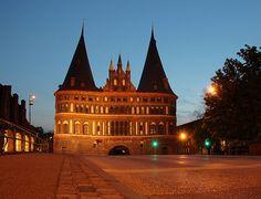 Holstentor, Lübeck (Schleswig-Holstein)