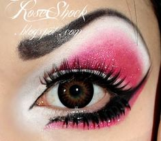 I would alter this a bit but I like the design itself...Pinkie Pie  http://www.makeupbee.com/look_Pinkie-Pie_3365