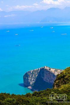 ahhh i miss this view! can't wait to go again!! Béjaia, Algeria