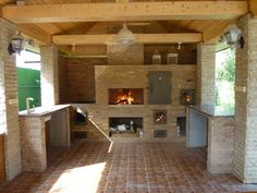 Patio Gazebo, Backyard, Barbecue Garden, Stone Bbq, Outdoor Projects, Outdoor Decor, Outside Bars, Bbq Kitchen, Outdoor Oven