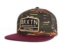 Brixton Axle Snapback (Camo) - Gorros y sombreros - Accesorios - Trakan
