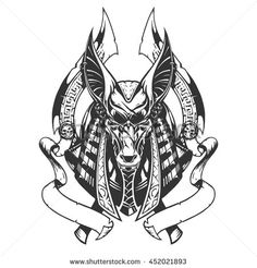 Anubis illustration