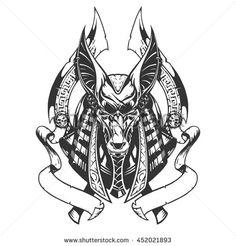 Anubis illustration