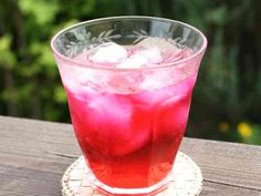 スッキリ爽やか♫赤紫蘇ジュースの画像