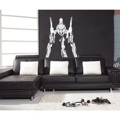 Anime decal, Anime stickers, Anime Vinyl, transformer anime Sticke Decal size 44x70 Color
