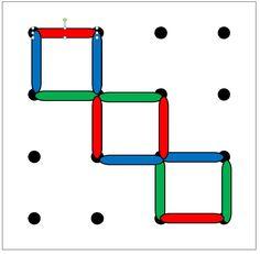 Raamfiguren met lollystokjes 4x4 1