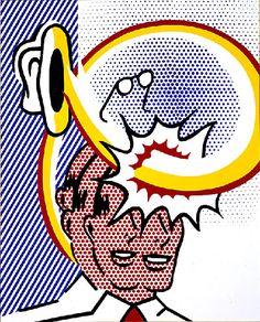 Roy Lichtenstein - Coup de Chapeau (Self-Portrait) 1996