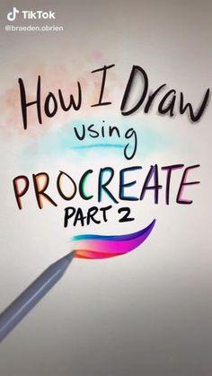 Digital Painting Tutorials, Digital Art Tutorial, Art Tutorials, Drawing Tutorials, Art Drawings Sketches Simple, Drawing Tips, Digital Art Beginner, Ipad Art, Illustrator Tutorials