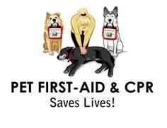 Pet First AID & #CPR #petsafety