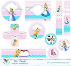 kit Festa Alice mod:575
