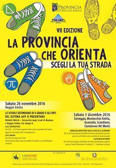Provincia di Reggio Emilia: Oggi torna il Salone dellorientamento