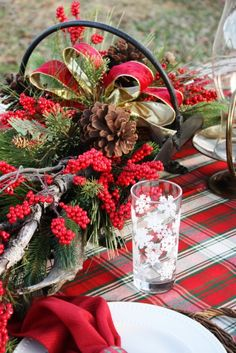 **Christmas & Winter Blessings** #centerpieces