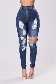 2dda0f0cddcf4a I live for fashion novathese jeans!! Super Skinny Ripped Jeans, High  Waisted Distressed