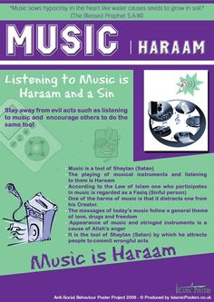 music is Forbidden in islam!