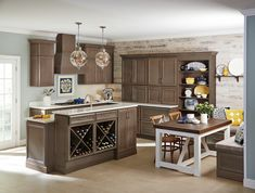 Browse through our gallery of images of maple cabinets available through Kitchen Express, Inc. Let us know how we can transform your kitchen, schedule a free consultation. Kitchen Designs Photos, Kitchen Photos, Kitchen Ideas, Key Kitchen, Country Kitchen, Homecrest Cabinets, Kitchen Cabinets Models, Kitchen Express, Built In Wine Rack