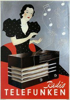 Radio Telefunken. 1935
