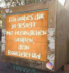 Listen to your gut feeling …- # Graduation jumpsuit # Graduation … – Graffiti World Words Quotes, Me Quotes, Sayings, Listen To Your Gut, German Quotes, Gut Feeling, True Words, Quotations, Street Art