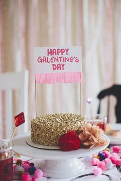 "Today, take a cue from our dream best friend Leslie Knope and host a Galentine's Day party! ""What's Galentine's Day? Oh, it's only the best day of the Valentines Day History, Valentines Day Party, Be My Valentine, Valentine Crafts, Printable Valentine, Homemade Valentines, Valentine Wreath, Valentine Ideas, Valentine Decorations"