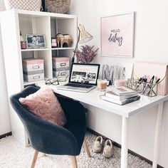 Finalize your Friday goals a la @fashionablykay's blush, girly, and chic all over desk setup | Follow her in the LIKEtoKNOW.it app to never miss a ready-to-shop post⠀ | http://liketk.it/2u9Tg @liketoknow.it #liketkit #ighome #instahome #homegoals #homeinspo #decor #homedecor #interiors #interiordesign #interiorstruly #interiors2you #decorcrushing #mybhg #myhousebeautiful #mysouthernliving #inspireushomedecor #howyouhome ⠀