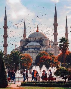 (adventureintern) Best Places To Travel In 2019 If You're Looking For Adventure: Turkey - A beautiful place to visit in the summer months, if you can Best Places To Travel, Places To Go, Visit Turkey, Istanbul Travel, Beautiful Mosques, Turkey Travel, Hagia Sophia, Beautiful Places To Visit, Travel Around