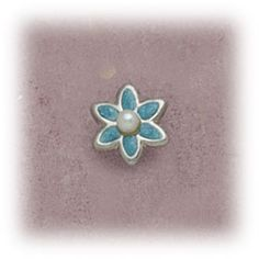 Simply Whispers hypoallergenic and nickel free Jewelry clip on Flower blue small with pearl center Whisper, Jewelry Making, Pearls, Earrings, Flowers, Blue, Beautiful, Style, Hush Hush