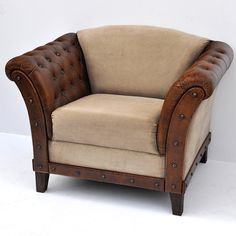 Kipling Leather Arm Chair