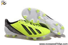 Cheap Discount adidas F50 adizero miCoach Green Black Shoes Shop