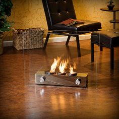 Home Etc Loft Portable Fireplace