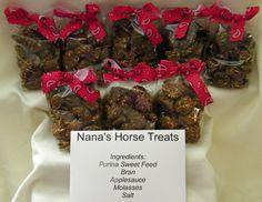 Horse Treats - my horses loved them! Not hard...