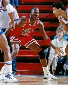 Defensive Player Of The Year - Jordan didn't want to be viewed exclusively as a scorer. His defensive skills were as sharp, if not as flashy, and he became the first player in NBA history to win Defensive Player of the Year and MVP awards in the same year when he did it in 1988. He's one of the all-time leaders in steals and set records for a guard with blocked shots.