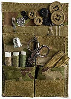 5615e44d4d1 Heavy Duty 1000D Cordura Army Sewing Kit  Amazon.co.uk  Sports